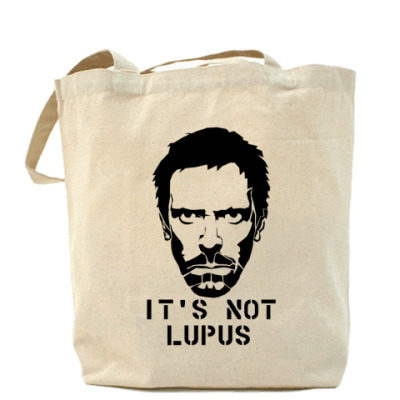 Сумка It is not lupus (House)