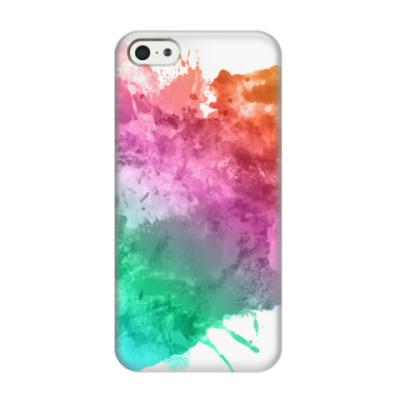 Чехол для iPhone 5/5s Акварель