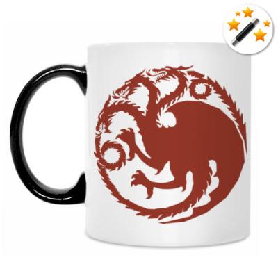 Кружка-хамелеон House Targaryen