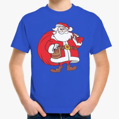 Детская футболка Санта Клаус