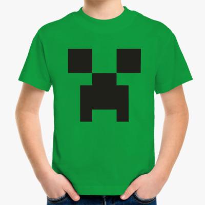 Детская футболка  Minecraft Майнкрафт