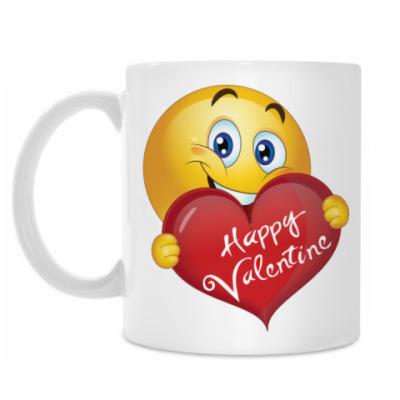 Кружка Happy Valentine