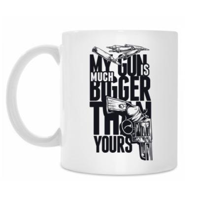 Кружка Gun