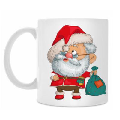 Кружка Пьяный Санта