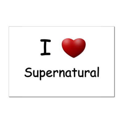 I Love Supernatural