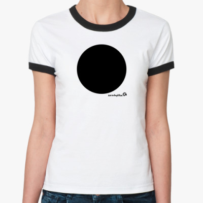 Женская футболка Ringer-T бездна