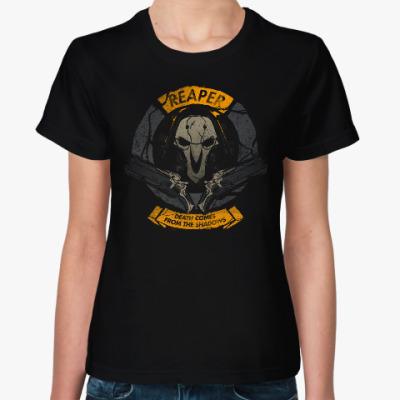 Женская футболка Overwatch Reaper Gabriel Reyes