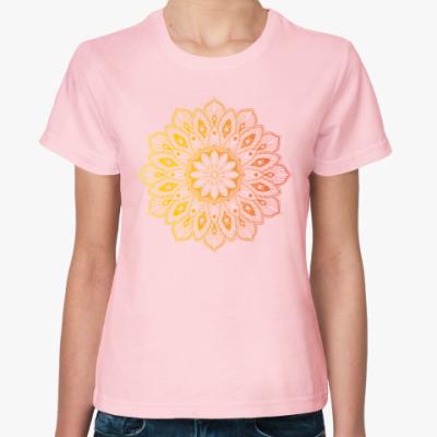Женская футболка Узор, паттерн