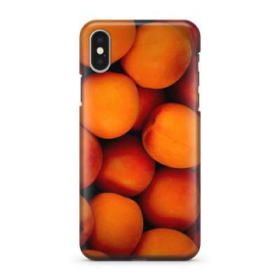 Чехол для iPhone X Персики