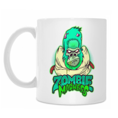 Кружка Zombie Monkey