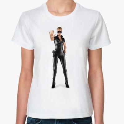 Классическая футболка Девушка в форме