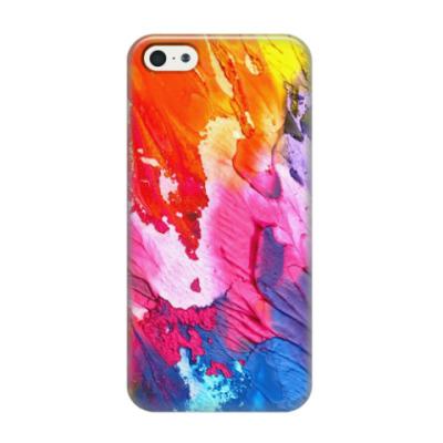 Чехол для iPhone 5/5s Яркие краски