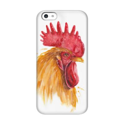 Чехол для iPhone 5c Петух