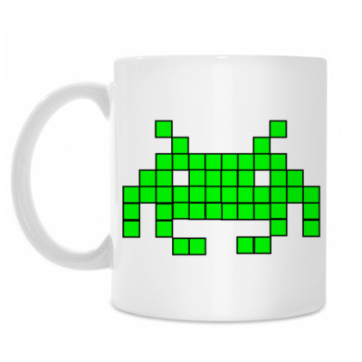 Кружка Space invader