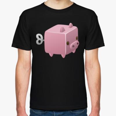 Футболка Заводная игрушка: Свинья
