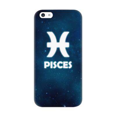 Чехол для iPhone 5c Знак зодиака. Рыбы