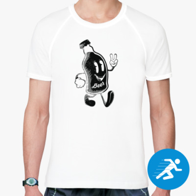 Спортивная футболка Герой веселья (hero of fun)
