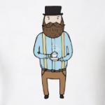 Джентльмен с чашечкой чая