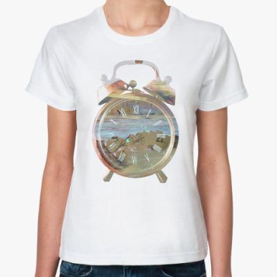 Классическая футболка Река времени