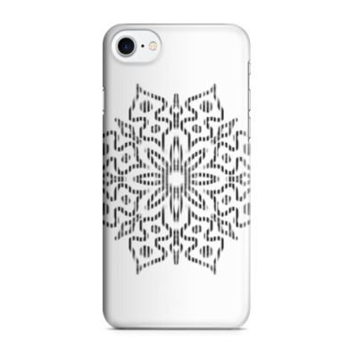 Чехол для iPhone 7/8 Snowflake