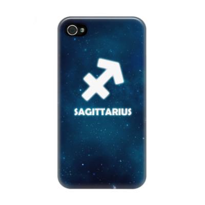 Чехол для iPhone 4/4s Знак зодиака. Стрелец
