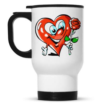 Кружка-термос Сердце
