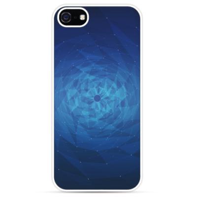 Чехол для iPhone Воронка полигонов