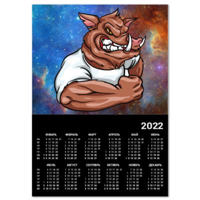 Календарь Кабан