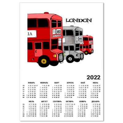 Календарь  'Лондон'
