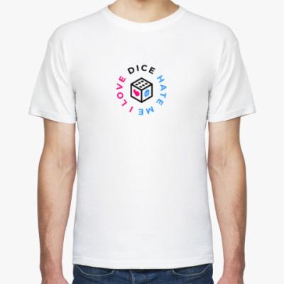 Футболка Мужская футболка «I Love Dice