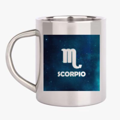Кружка металлическая Знак зодиака. Скорпион