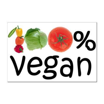 Наклейка (стикер) вегетарианство