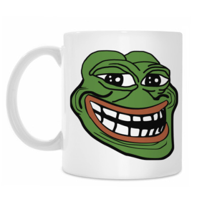 Кружка TrollFace Pepe