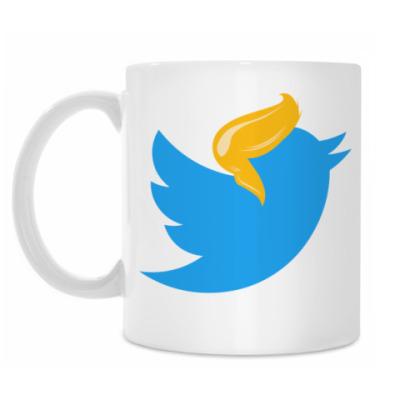 Кружка Твиттер Трамп