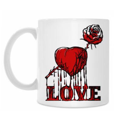 Кружка Любовь и розы