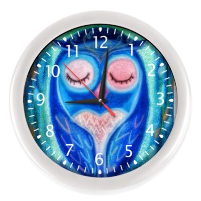 Настенные часы 'Умная головушка'