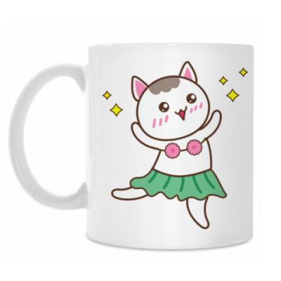 Кружка Гавайская Кошка