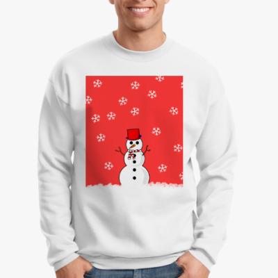 Свитшот Снеговик