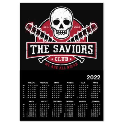Календарь Walking Dead The Saviors TWD