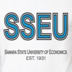 Двухцветная футболка СГЭУ