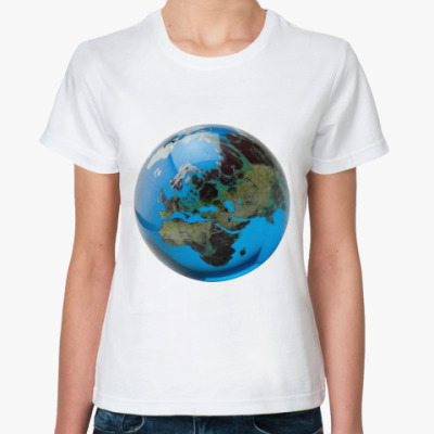Классическая футболка Земля