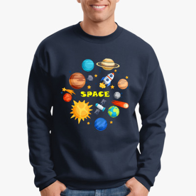 Свитшот Space (Космос)