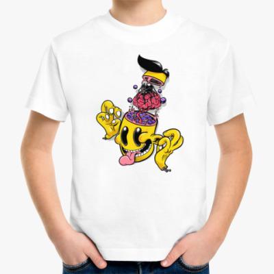 Детская футболка CRAZY BRAIN