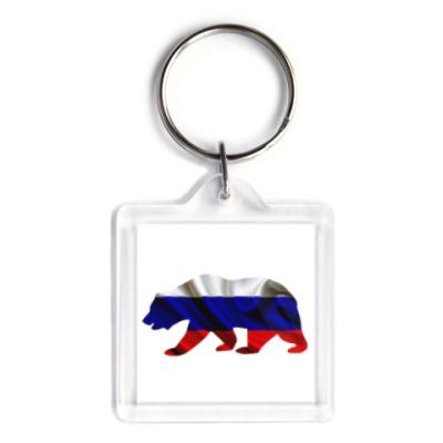 Брелок Русский медведь