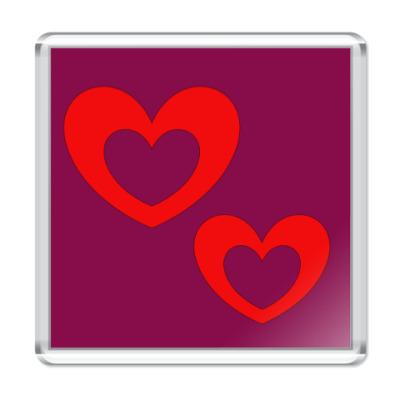 Магнит Подарок на день Святого Валентина