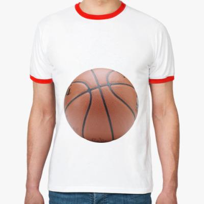 Футболка Ringer-T   Мяч
