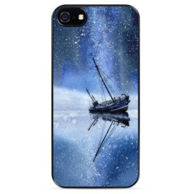 Чехол для iPhone Звездный корабль