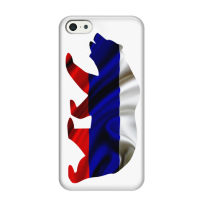 Чехол для iPhone 5/5s Русский медведь