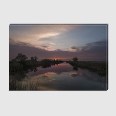 Холст Майский закат