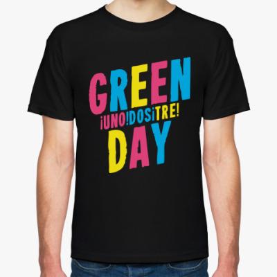 Футболка Green Day Uno Dos Tre